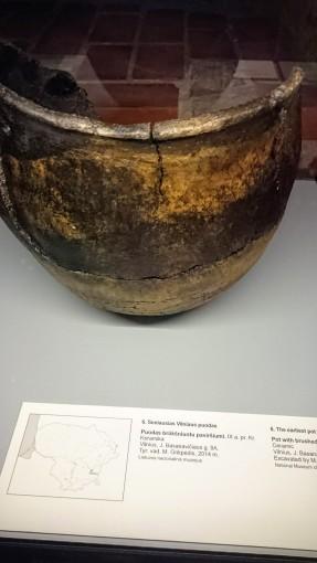 Seniausias Vilniaus puodas